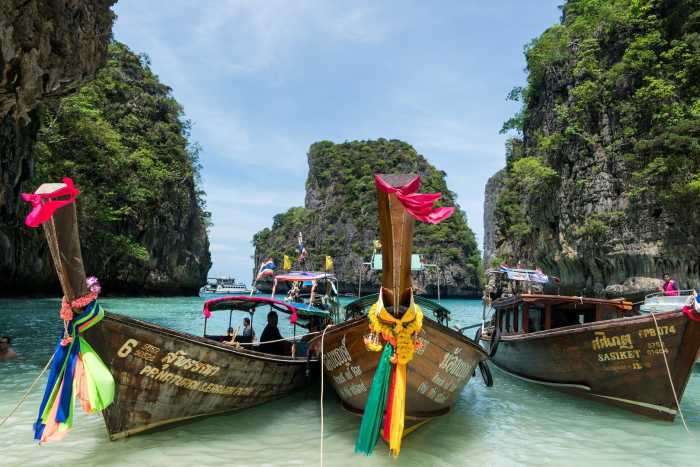 Phuket Longtail boats