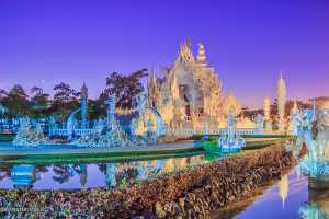 Chiang Rai Starts White Temple Light Festival